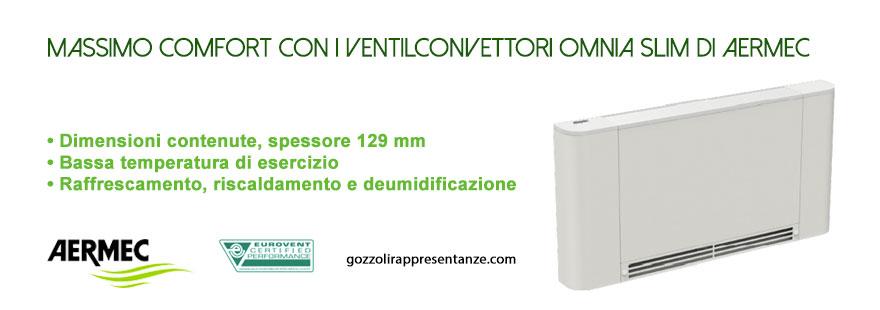 vetilconvettore-omnia-slim-aermec